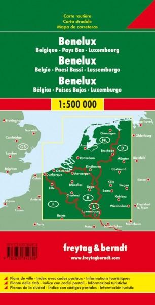 F&B Autokarte Benelux