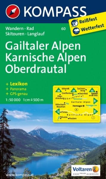Kompass WK Gailtaler Alpen