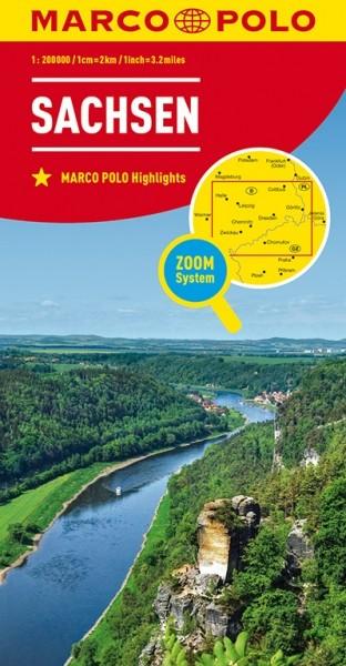 MP Karte Sachsen