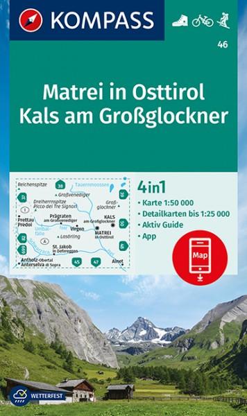KOMPASS Wanderkarte Matrei in Osttirol, Kals