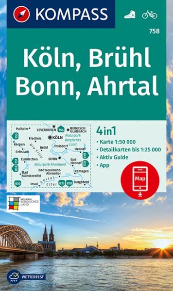 KOMPASS WK Köln, Brühl, Bonn, Ahrtal