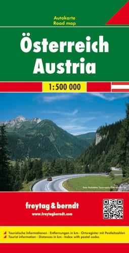 F&B Autokarte Österreich