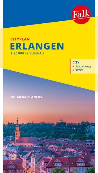 Falk Cityplan Erlangen