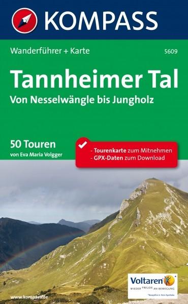 Tannheimer Tal Karte.Kompass Wf Tannheimer Tal