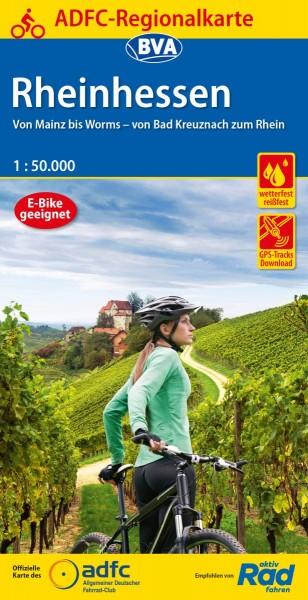 ADFC Regionalkarte Rheinhessen