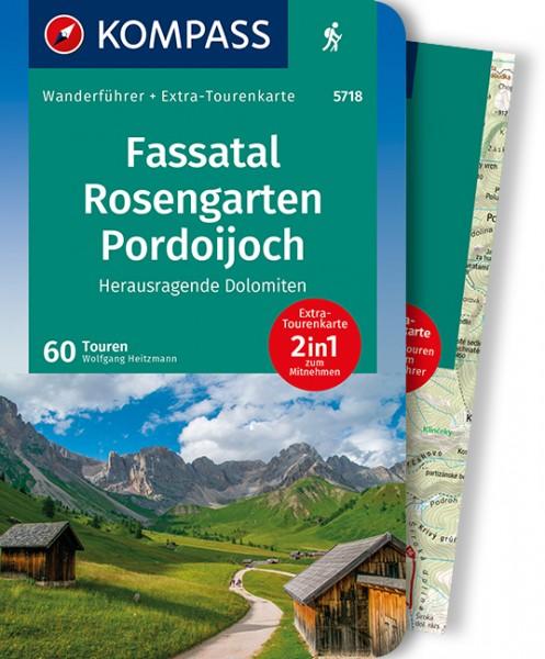 KOMPASS Wanderführer Fassatal, Rosengarten