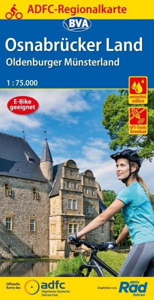 ADFC Regionalkarte Osnabrücker Land
