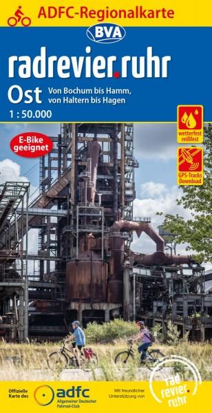 ADFC Regionalkarte radrevier.ruhr Ost