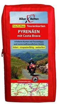 FolyMaps Tourenkarten Set Pyrenäen mit Costa Brava