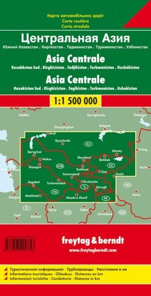 F&B Autokarte Zentralasien