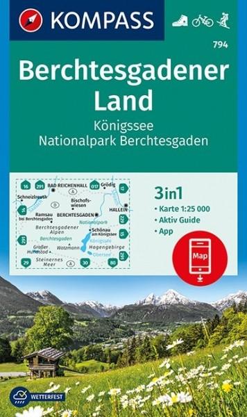 Kompass WK Berchtesgaden. Land