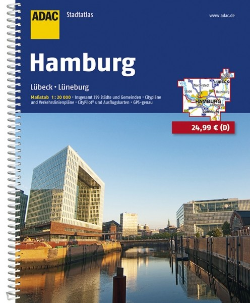 ADAC Stadtatlas Hamburg