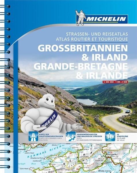 Michelin Atlas Großbritannien