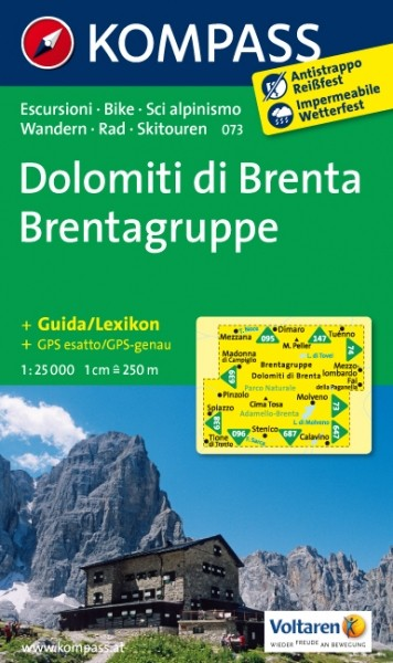 Kompass WK Dolomiti di Brenta