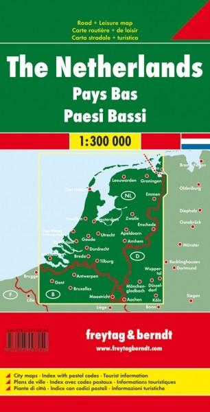 F&B Autokarte Niederlande