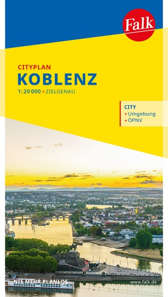 Falk Cityplan Koblenz
