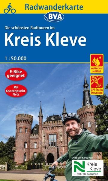 BVA Radwanderkarte Kreis Kleve