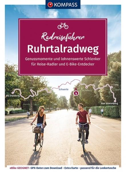 Kompass RadReiseFührer Erlebnis Ruhrtalradweg