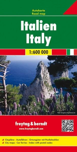 F&B Autokarte Italien