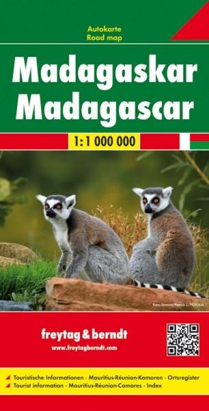 F&B Autokarte Madagaskar