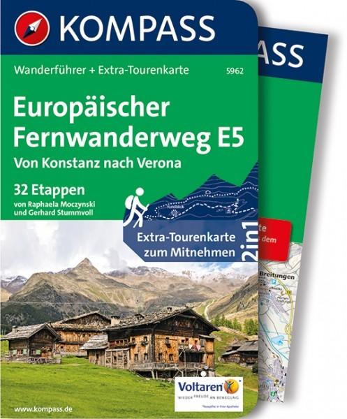 Kompass WF Euro. Fernwanderweg