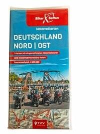 Motorradkarten Set Deutschland Nord-Ost