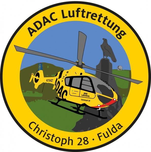 ADAC Luftrettung Fanpatch Christoph 28-Fulda