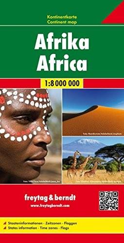 F&B Kontinentkarte Afrika