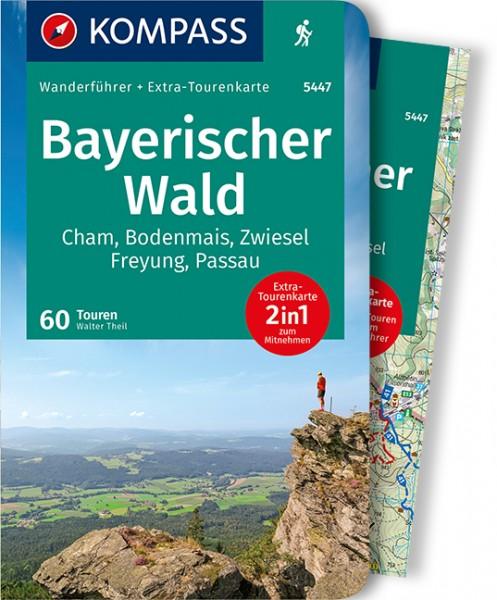 KOMPASS Wanderführer Bayerischer Wald mit Karte