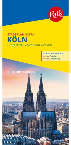 Falk Stadtplan Extra Standardfaltung Köln 1:20 000
