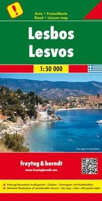 F&B Autokarte Lesbos