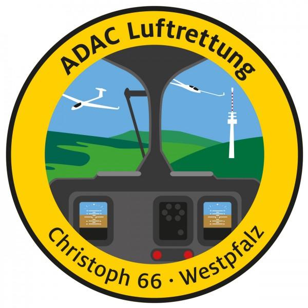 ADAC Luftrettung Fanpatch Christoph 66-Westpfalz