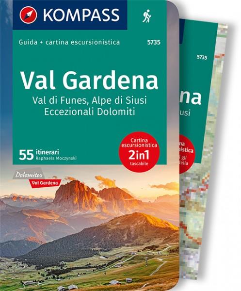 KOMPASS guida escursionistica Val Gardena