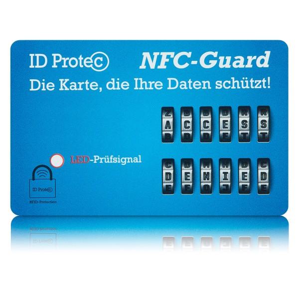 ID Protec Schutzkarte NFCGuard