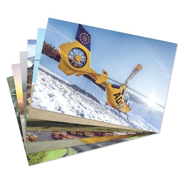 ADAC Luftrettung Postkarten