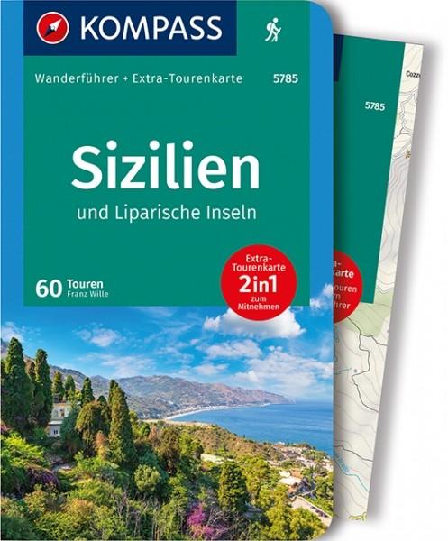 Kompass Wanderführer Sizilien