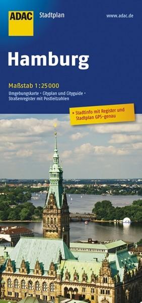 ADAC Stadtplan Hamburg
