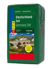 F&B Straßenkarten-Set Deutschland