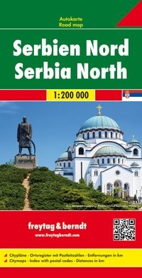 F&B Autokarte Serbien Nord