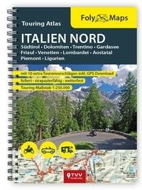 FolyMaps Touringatlas Italien Nord 1:250.000