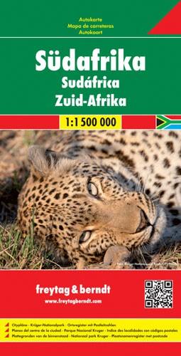 F&B Autokarte Südafrika