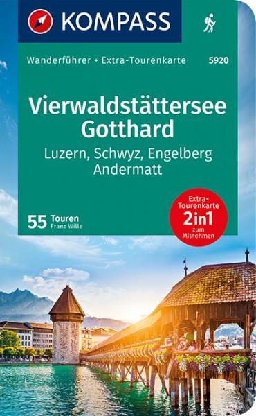 KOMPASS WF Vierwaldstättersee, Gotthard
