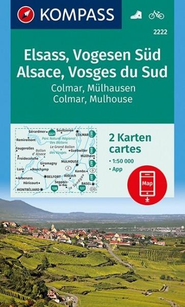 Kompass WK Elsass/Vogesen Süd