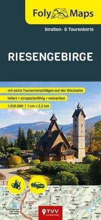 FolyMaps Riesengebirge 1:250 000