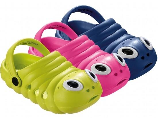 Kinder-Clog-Raupe
