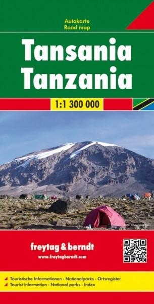 F&B Autokarte Tansania