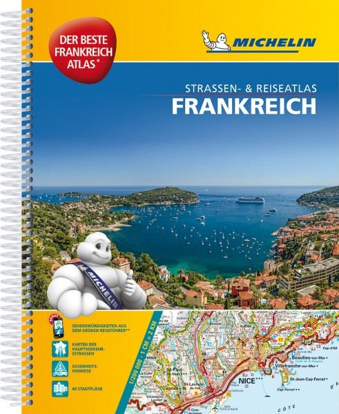 Michelin Atlas Frankreich A4