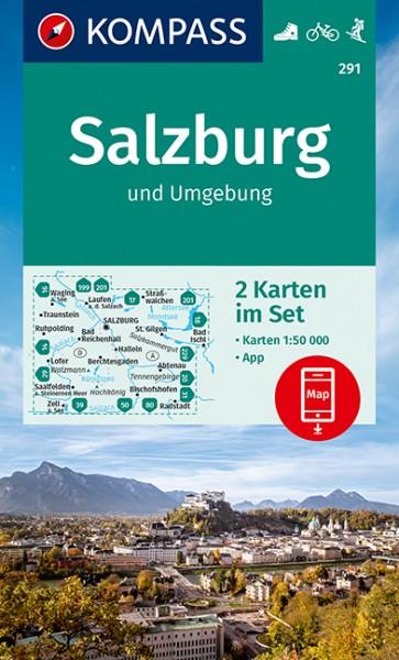 Kompass WK Salzburg und Umgebung