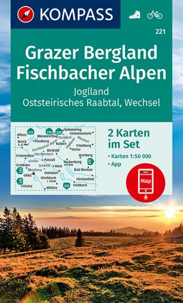 KOMPASS WK Grazer Bergland, Fischbacher Alpen