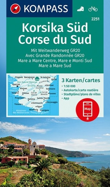 Kompass WK Korsika Süd